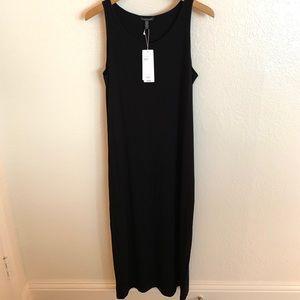 NWT Eileen Fisher Viscose Jersey Maxi Dress